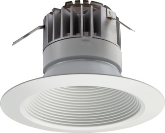 P Series 5 in. Matte White 3000K LED Recessed Baffle Module (525|223WT1)