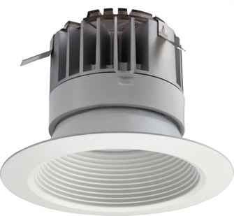 P Series 4 in. Matte White 3000K LED Recessed Baffle Module (525|223WRT)
