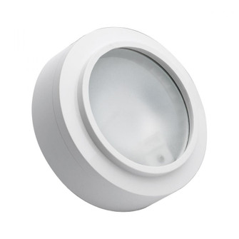 XENON PUCK LIGHT WHITE FRST LENS W/LAMP (91|MZ401-5-30)