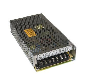 12V DC POWER SUPPLY, 1-100W, DOUBLE OUTPUT, 85-264V INPUT (44|PS-100-12)