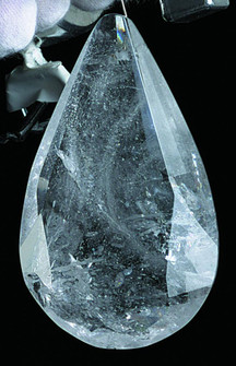 3-1/2IN ROCK CRYS FACETED ALMND (136|Y3020)