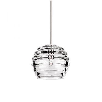 G900 SERIES-CLEAR RIB BALL GLASS SHADE (16|G916-CL)