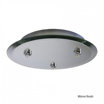 Round Mirrored Quick Connect Canopy (1357|QMP-G3RE-MR)