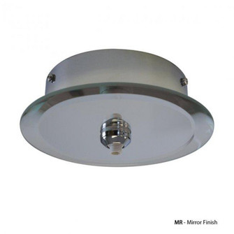 Round Mirrored Quick Connect Canopy (1357|QMP-G1RN-MR)