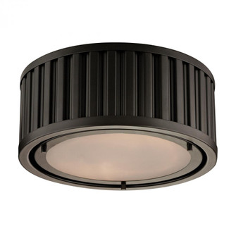 Linden Manor 2-Light Flush Mount in Oil Rubbed Bronze (91|46130/2)