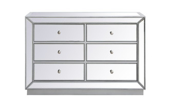 48 inch mirrored cabinet in antique silver (758 MF53017S)