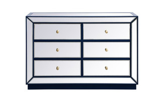 48 inch mirrored cabinet in blue (758 MF53017BL)