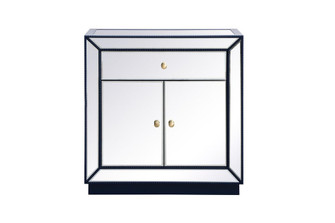32 inch mirrored chest in blue (758 MF53002BL)