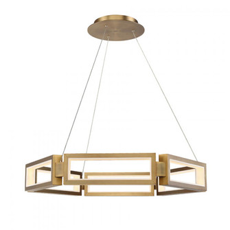 Mies LED Chandelier (3612|PD-50835-AB)