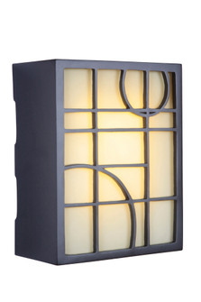 LED Hand Carved Geometric w/Frosted Glass (20 ICH1660-OB)