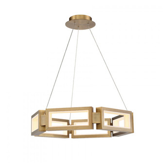 Mies LED Chandelier (3612|PD-50829-AB)
