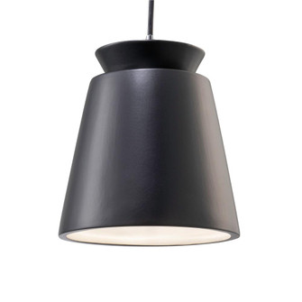 Small Trapezoid Pendant (254 CER-6425-CRB-CROM-BKCD)