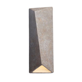 Large Diagonal Rectangle Outdoor LED Wall Sconce (Closed Top) (254|CER-5897W-TRAM)