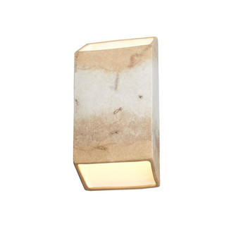 Large Outdoor ADA Tapered Rectangle LED Wall Sconce (Open Top & Bottom) (254|CER-5875W-TRAG)