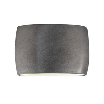 Wide ADA Large Oval Wall Sconce (Outdoor) - Closed Top (254|CER-8898W-ANTS)
