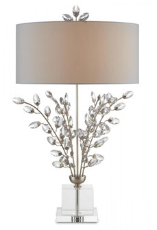 Forget-Me-Not Silver Table Lamp (92|6000-0727)