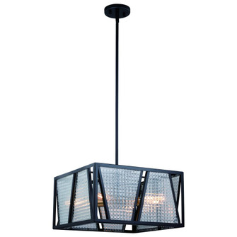 Oslo 16.25-in Semi Flush Ceiling Light or Pendant (Dual Mount) Black and Natural Brass (51 P0294)