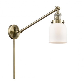 Small Bell 1 Light Swing Arm (3442|237-AB-G51-LED)
