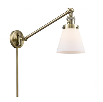 Small Cone 1 Light Swing Arm (3442|237-AB-G61-LED)