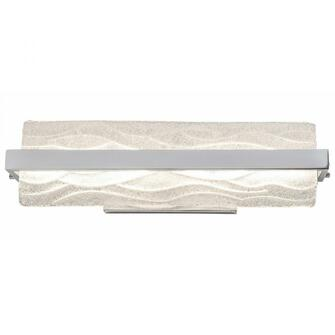 Waveform 18-In Dimmable LED Bath Fixture (158|610700)