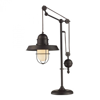 Farmhouse Adjustable Table Lamp in Oil Rubbed Bronze (91|65072-1)