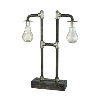 Oxford 2-Light Table Lamp with Battery-operated LED Starry Lights (91|981395)