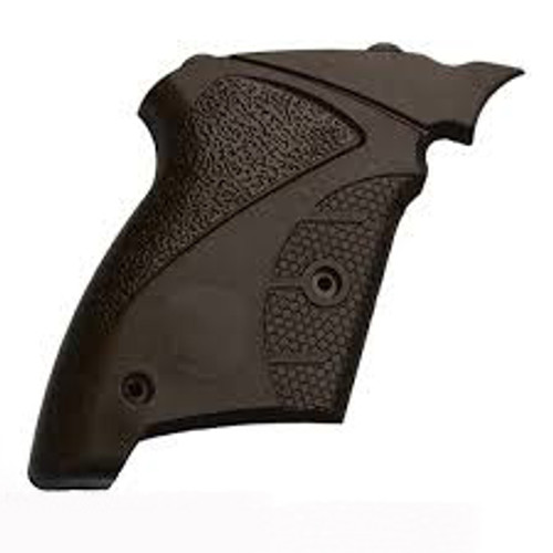 Black plastic bullpup grip