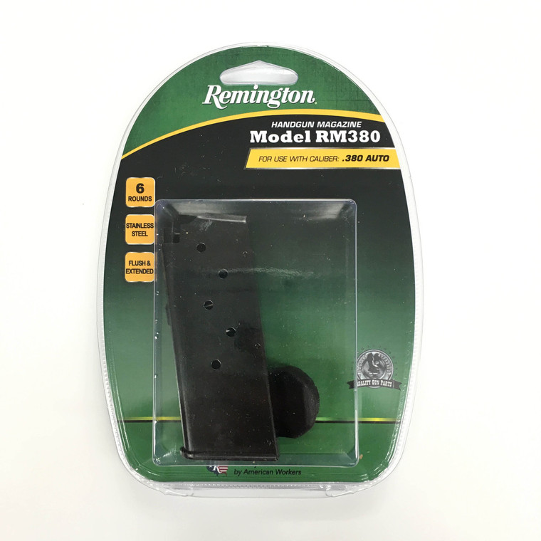 Remington RM380 Handgun Magazine .380 Auto - 6 Rounds