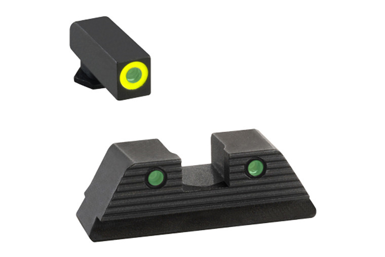 AmeriGLO GLOCK 17 19 19X 26 45 Gen5 TROOPER Night Sights SET GL-821