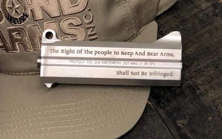 """4.25"""" 357/38Spl """"Protect the 2nd Amendment"""" Barrel"""
