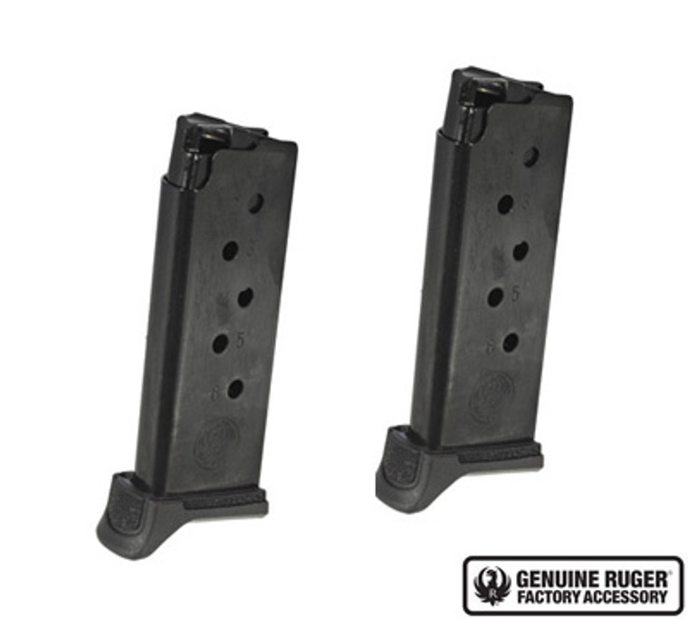LCP® II MAGAZINE, 6-ROUND .380 AUTO MAGAZINE VALUE 2-PACK