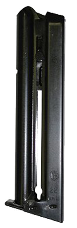 This is a factory Smith and Wesson magazine, designed to fit the model 41, 422, 622, & 2206 firearms chambered in .22 LR. It features a 10 round capacity, steel body construction.  Specifications and Features: 10 Round Capacity for .22 LR firearms Steel Construction  Fits: Smith and Wesson model 41 Smith and Wesson model 422 Smith and Wesson model 622 Smith and Wesson model 2206