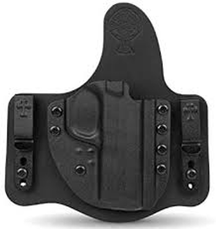 Style - Crossbreed Hybrid ST2 Trigger Style - Trigger Guard Attachment Style - Steel Clip  Material - Kydex & Leather Wear Style - Inside the waistband
