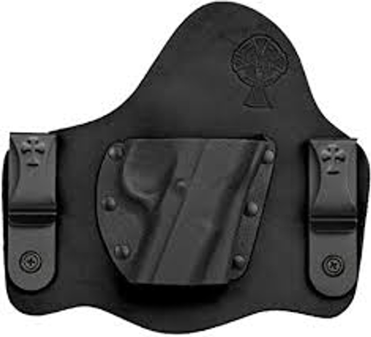 Style - Crossbreed Supertuck Trigger Style - Trigger Guard Attachment Style - Steel Clip  Material - Kydex & Leather Wear Style - Inside the waistband
