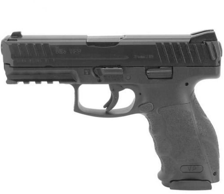 HK - VP9-B - 9mm - Black - 2x17 Round - Push Button - 81000285