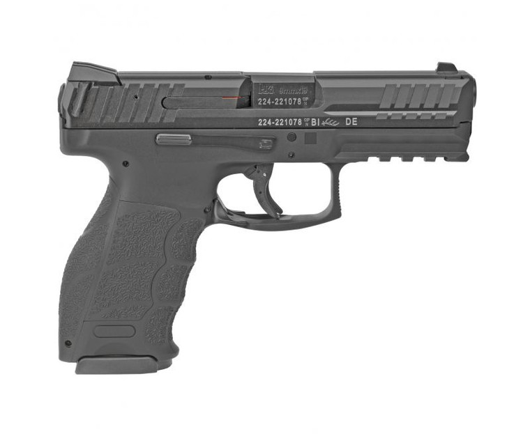 """Hk - VP9 9mm 4.09"""" 17 Rounds Black 2 mags - 81000283, 642230260207"""