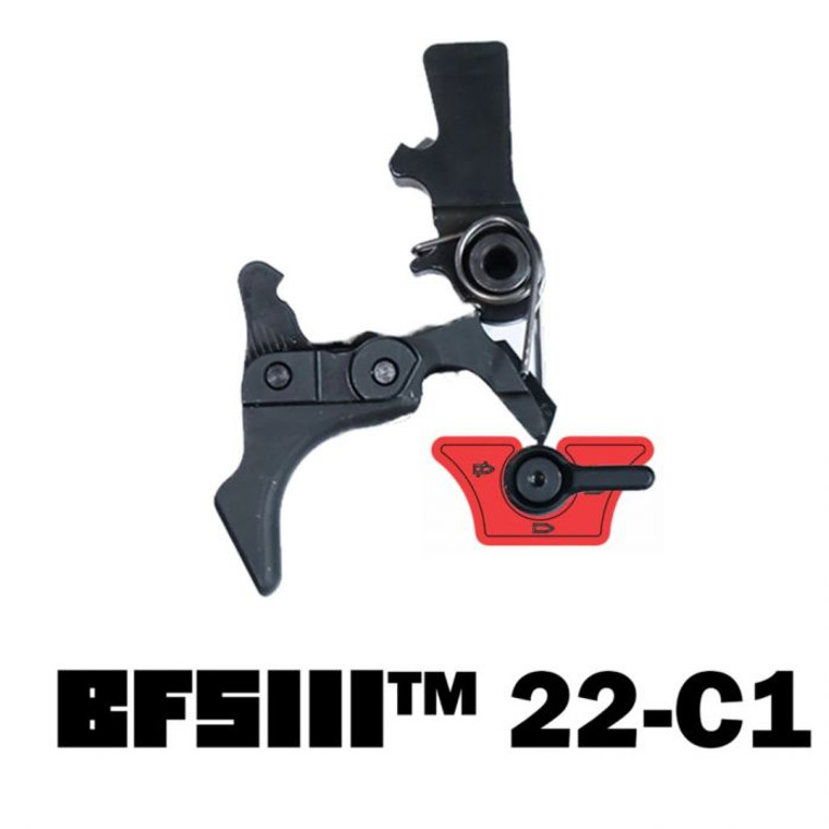 Franklin Armory - BFSIII 22-C1 Binary Trigger, Fits 10/22 Style Firearms 5775A, 818725012365