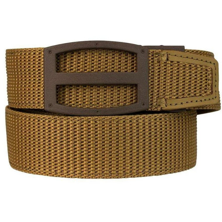 """Nexbelt - Titan EDC Precise Fit Gun Belt - 1.5"""" Width - Coyote, 811685022122"""