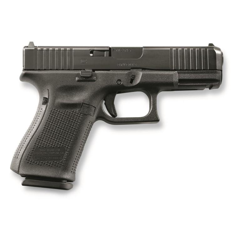 """Glock - Glock 19 - Gen 5 - MOS - 9mm, 4.02"""" Barrel - 10x3 Round Magazine, 764503030819"""