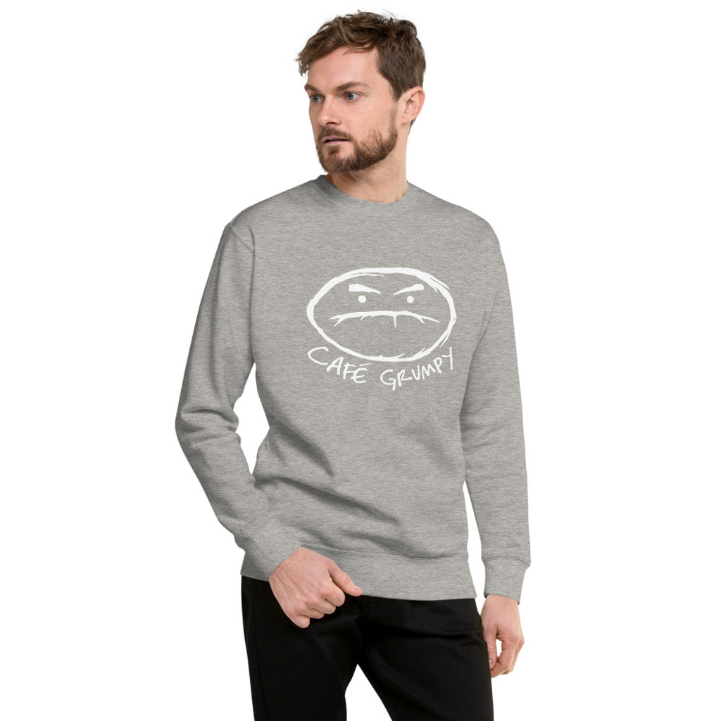 Grumpy Logo pullover sweatshirt