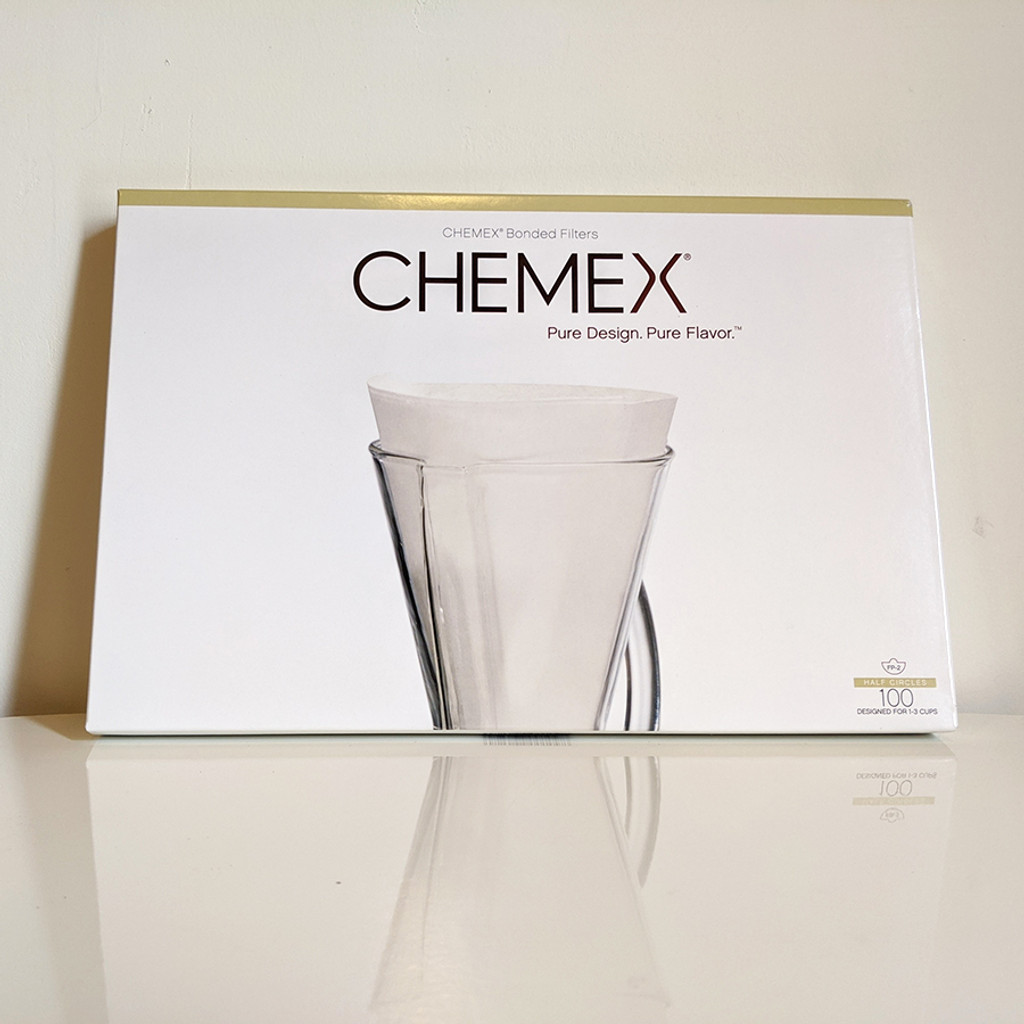 Chemex Filter (Unfolded Half Circle)