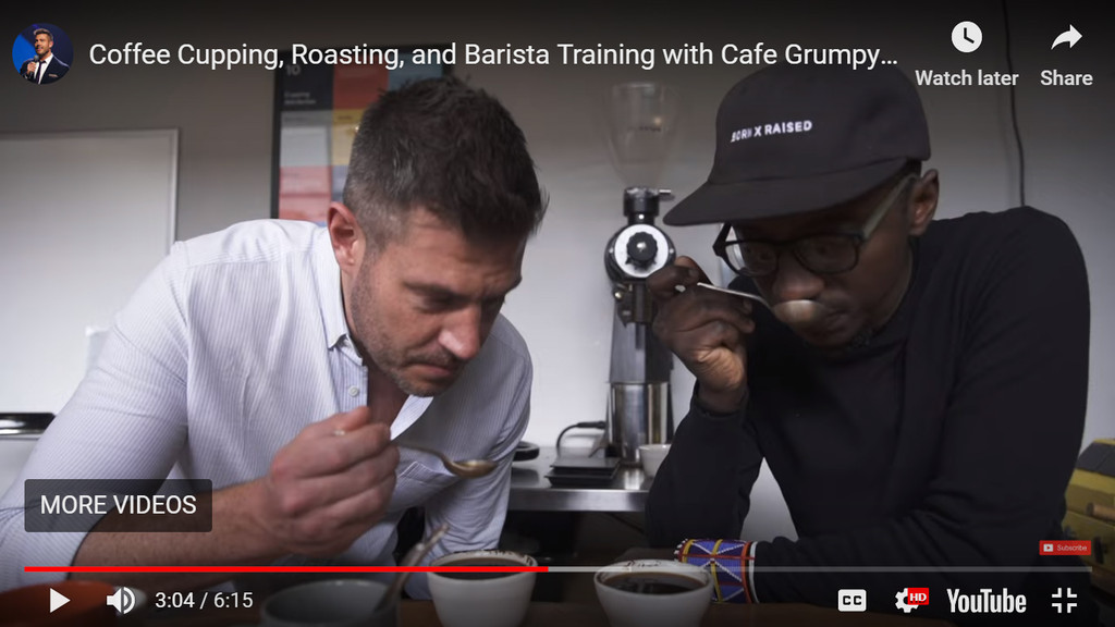 Coffee Cupping, Roasting, and Barista Training with Cafe Grumpy