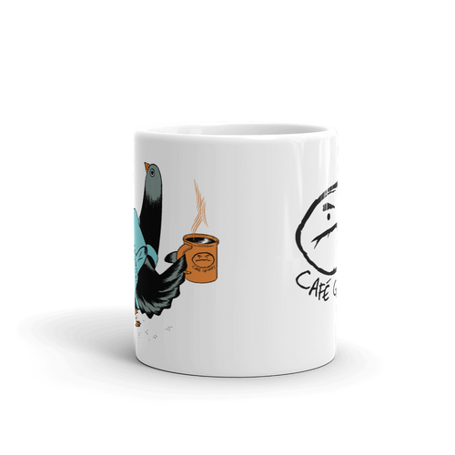 Pigeon Commuter Mug