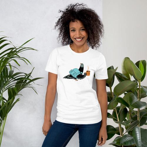 Pigeon Commuter Unisex T-Shirt