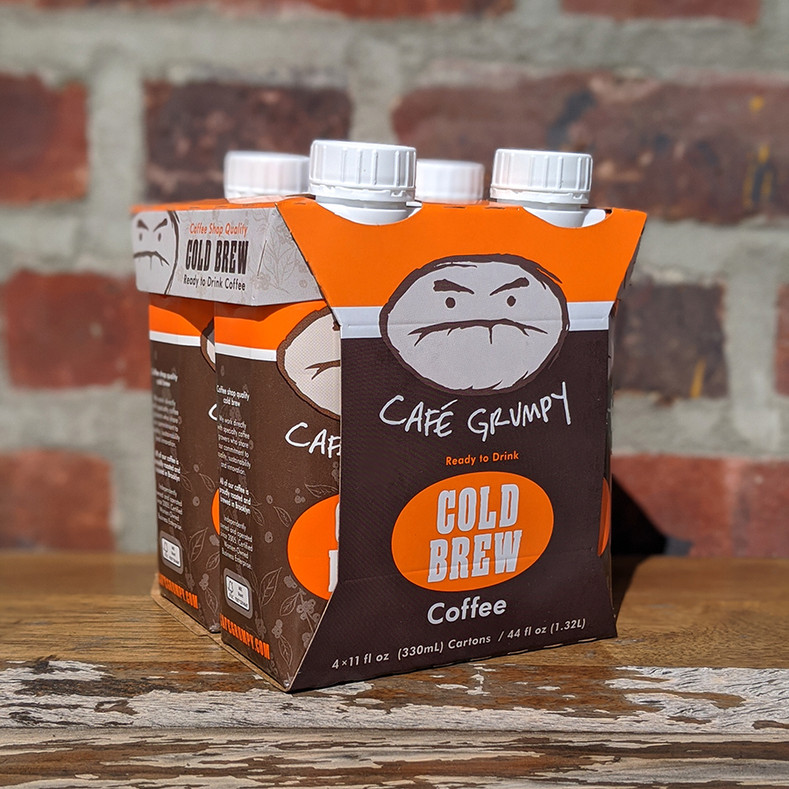 Café Grumpy Launches Shelf-Stable Ready-to-Drink Cold Brew
