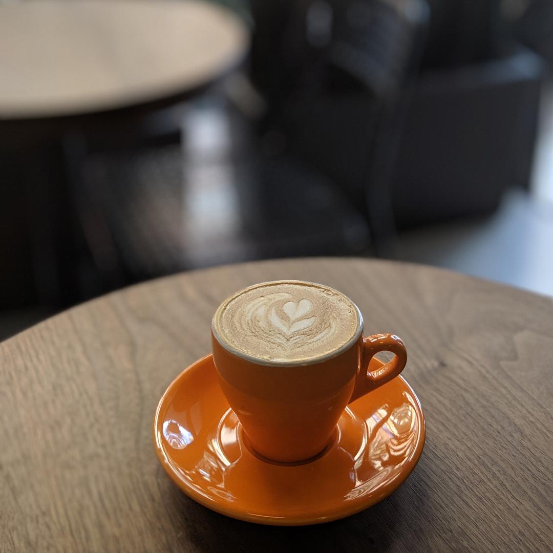 cafe grumpy coral gables cortado image