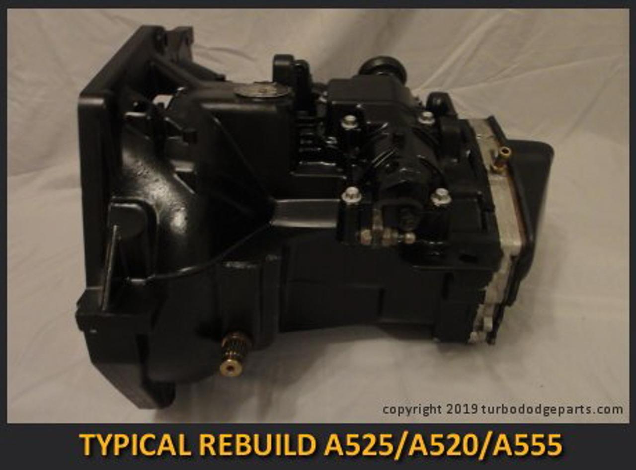 Rebuilt A525 A520 A555 transmission