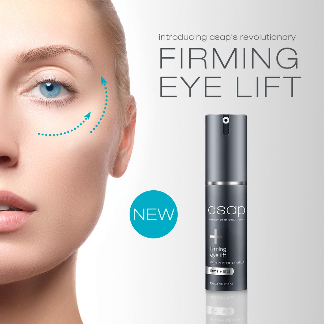 asap launches NEW Firming Eye Lift