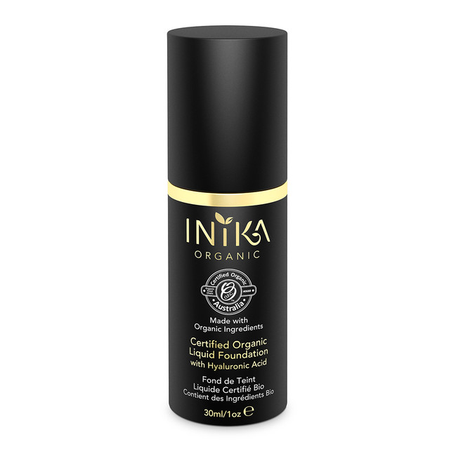 INIKA Certified Organic Liquid Foundation 30ml