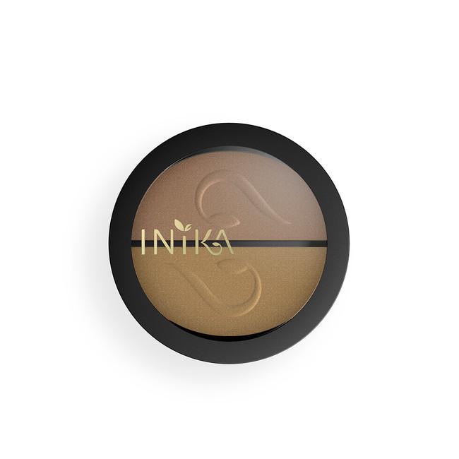 INIKA Pressed Mineral Eye Shadow Duo 3.9g